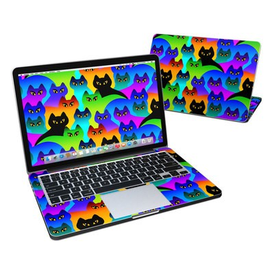 MacBook Pro Retina 13in Skin - Rainbow Cats