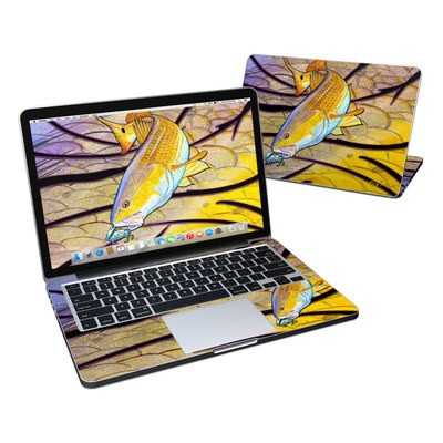 MacBook Pro Retina 13in Skin - Red Fish