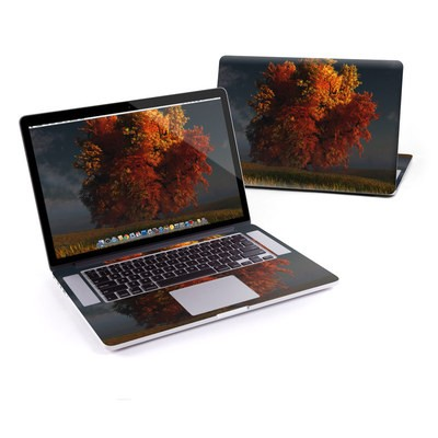 MacBook Pro Retina 13in Skin - Red and Gold