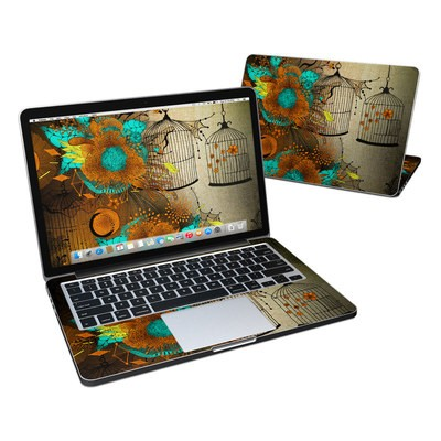 MacBook Pro Retina 13in Skin - Rusty Lace
