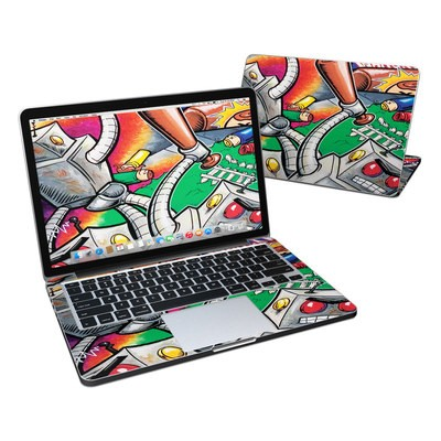 MacBook Pro Retina 13in Skin - Robot Beatdown