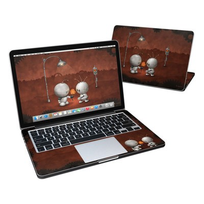 MacBook Pro Retina 13in Skin - Robots In Love