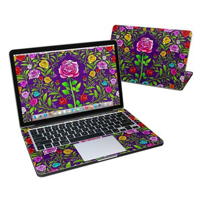 MacBook Pro Retina 13in Skin - Rose Burst