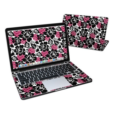 MacBook Pro Retina 13in Skin - Rose Noir