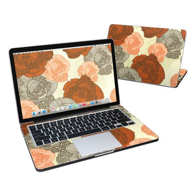 MacBook Pro Retina 13in Skin - Roses