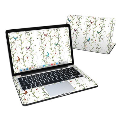 MacBook Pro Retina 13in Skin - Royal Birds