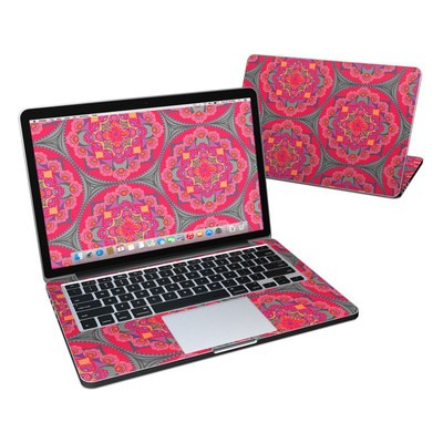 MacBook Pro Retina 13in Skin - Ruby Salon