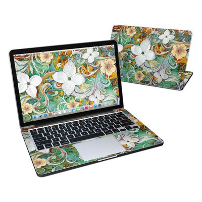 MacBook Pro Retina 13in Skin - Sangria Flora