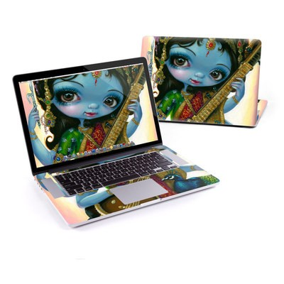 MacBook Pro Retina 13in Skin - Saraswati Playing