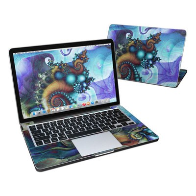 MacBook Pro Retina 13in Skin - Sea Jewel