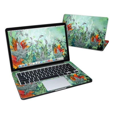 MacBook Pro Retina 13in Skin - Sea Flora