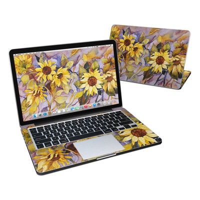 MacBook Pro Retina 13in Skin - Sunflower