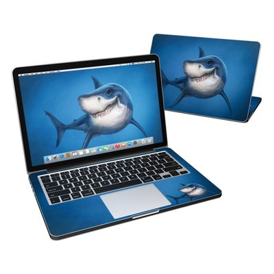 MacBook Pro Retina 13in Skin - Shark Totem