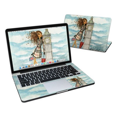 MacBook Pro Retina 13in Skin - The Sights London