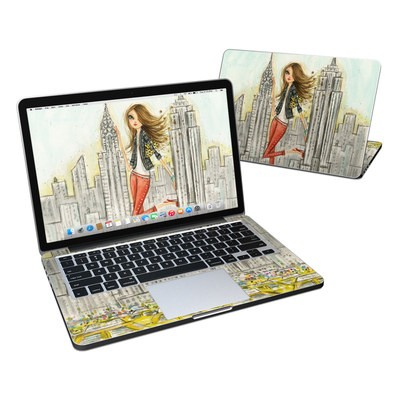 MacBook Pro Retina 13in Skin - The Sights New York