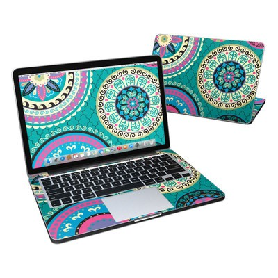 MacBook Pro Retina 13in Skin - Silk Road