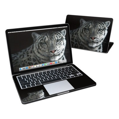 MacBook Pro Retina 13in Skin - Silver Shadows