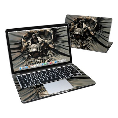 MacBook Pro Retina 13in Skin - Skull Wrap