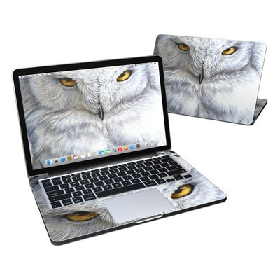 MacBook Pro Retina 13in Skin - Snowy Owl