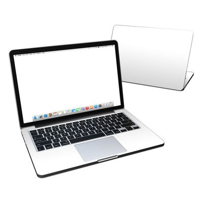 MacBook Pro Retina 13in Skin - Solid State White