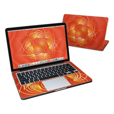 MacBook Pro Retina 13in Skin - Spiral Stellations