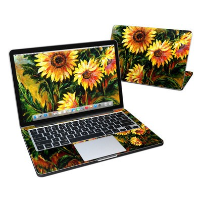 MacBook Pro Retina 13in Skin - Sunflower Sunshine