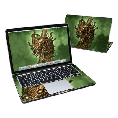 MacBook Pro Retina 13in Skin - Steampunk Dragon