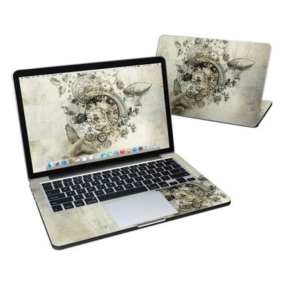 MacBook Pro Retina 13in Skin - Steamtime