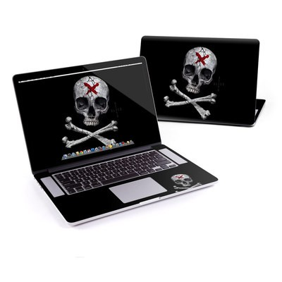 MacBook Pro Retina 13in Skin - Stigmata Skull