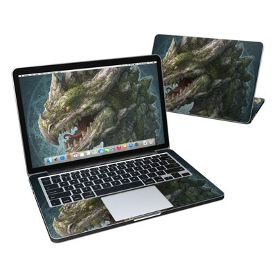 MacBook Pro Retina 13in Skin - Stone Dragon