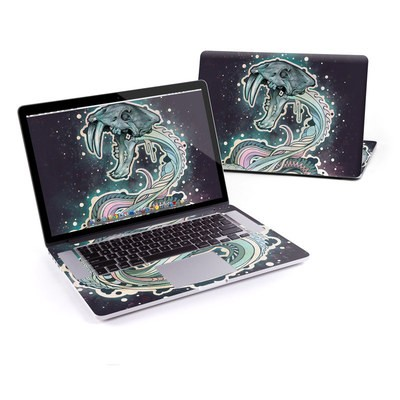 MacBook Pro Retina 13in Skin - Saber-Toothed Serpent