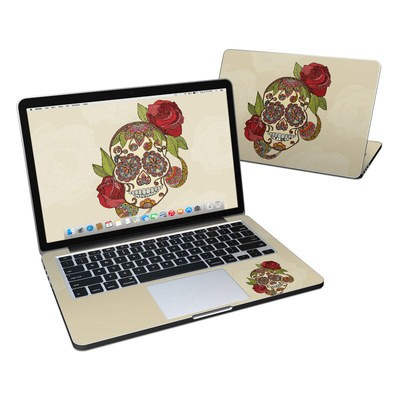 MacBook Pro Retina 13in Skin - Sugar Skull