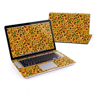 MacBook Pro Retina 13in Skin - Sunflower Patch