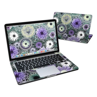 MacBook Pro Retina 13in Skin - Tidal Bloom