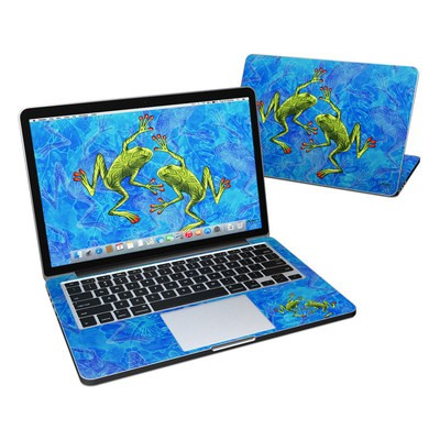 MacBook Pro Retina 13in Skin - Tiger Frogs
