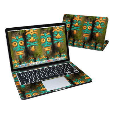 MacBook Pro Retina 13in Skin - Tiki Abu