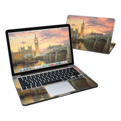 MacBook Pro Retina 13in Skin - Thomas Kinkades London