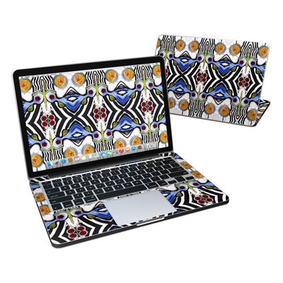 MacBook Pro Retina 13in Skin - Tribal Sun