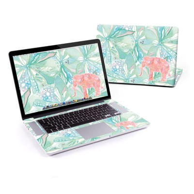 MacBook Pro Retina 13in Skin - Tropical Elephant
