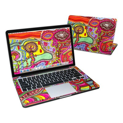 MacBook Pro Retina 13in Skin - The Wall