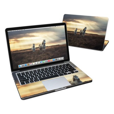 MacBook Pro Retina 13in Skin - Hornless Unicorns