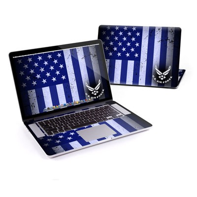 MacBook Pro Retina 13in Skin - USAF Flag