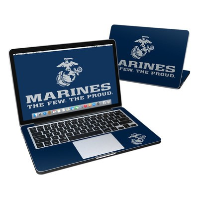 MacBook Pro Retina 13in Skin - USMC Blue