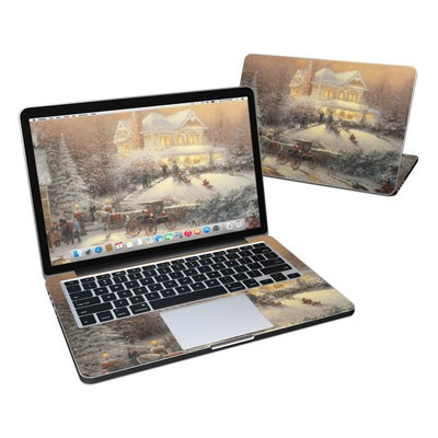 MacBook Pro Retina 13in Skin - Victorian Christmas