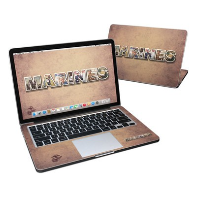 MacBook Pro Retina 13in Skin - Vintage Poster