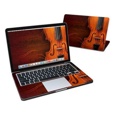 MacBook Pro Retina 13in Skin - Violin