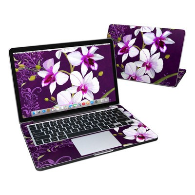 MacBook Pro Retina 13in Skin - Violet Worlds