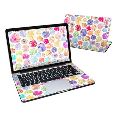 MacBook Pro Retina 13in Skin - Watercolor Dots