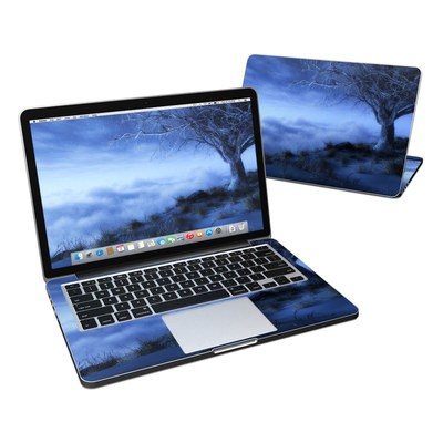 MacBook Pro Retina 13in Skin - World's Edge Winter