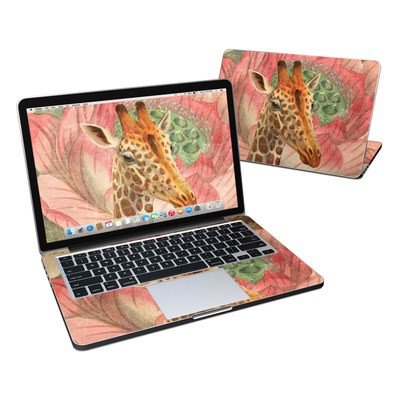 MacBook Pro Retina 13in Skin - Whimsical Giraffe